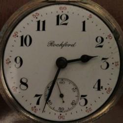 Rockford Grade 938 Pocket Watch