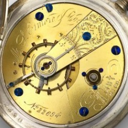 Cornell Watch Co. Grade  Pocket Watch