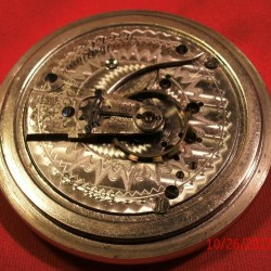 Waltham Grade No. 15 Pocket Watch