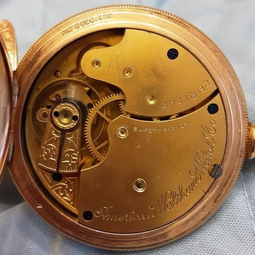 Waltham Grade No. 8 Pocket Watch Image