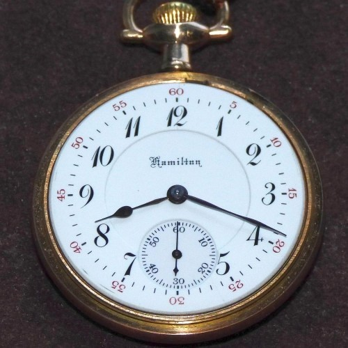 Hamilton Grade 952 Pocket Watch Image