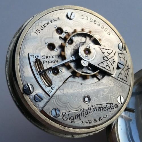 Elgin Grade 317 Pocket Watch