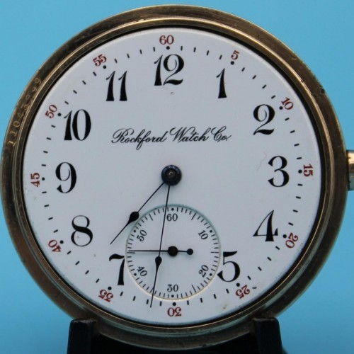 Rockford Grade 590 Pocket Watch Image