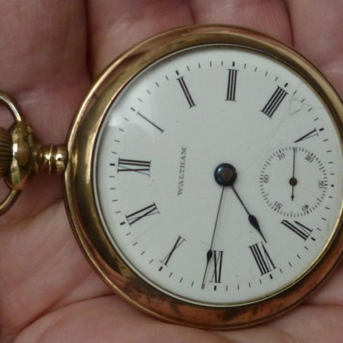 Image of Waltham No. 820 #8776573 Dial
