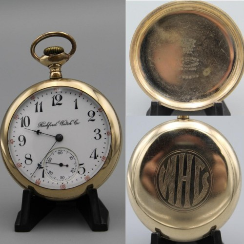Rockford Grade 565 Pocket Watch Image