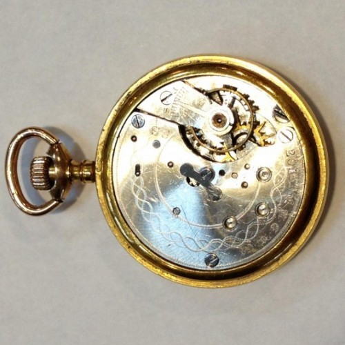 New England Watch Co. Grade Unknown Pocket Watch Image