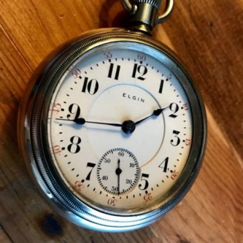 Elgin Grade 349 Pocket Watch Image