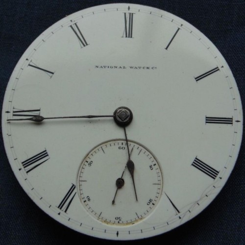 Elgin Grade 57 Pocket Watch Image