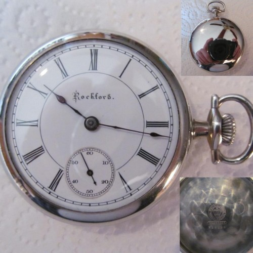 Rockford Grade 93 Pocket Watch Image