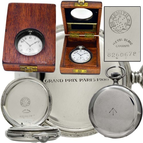 Zenith Grade 19-34-3-T Pocket Watch Image