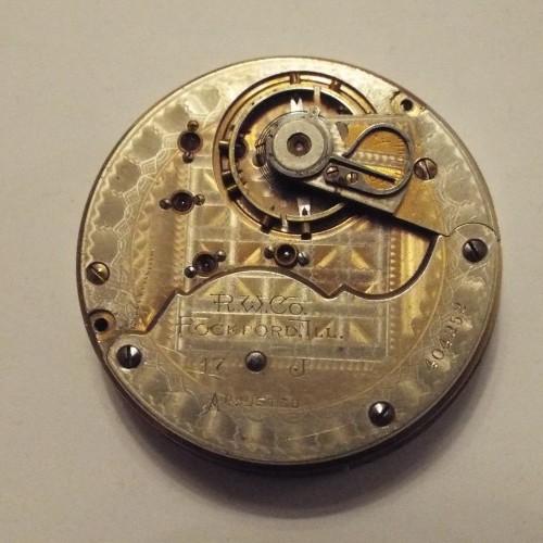 Rockford Grade 60 Pocket Watch Image