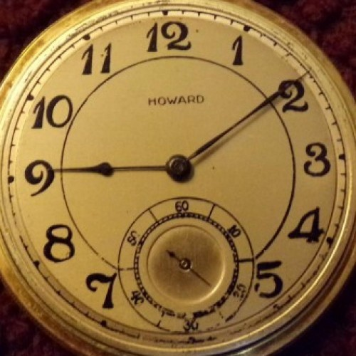 E. Howard Watch Co. (Keystone) Grade Series 14 Pocket Watch Image