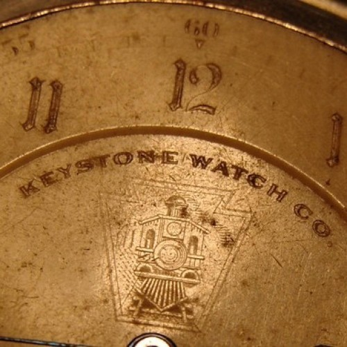 Image of Keystone Standard Watch Co.  #317609 Dial