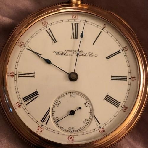 Waltham Grade No. 640 Pocket Watch Image