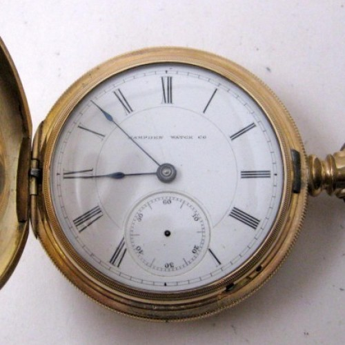 Hampden Grade No. 31 Pocket Watch Image