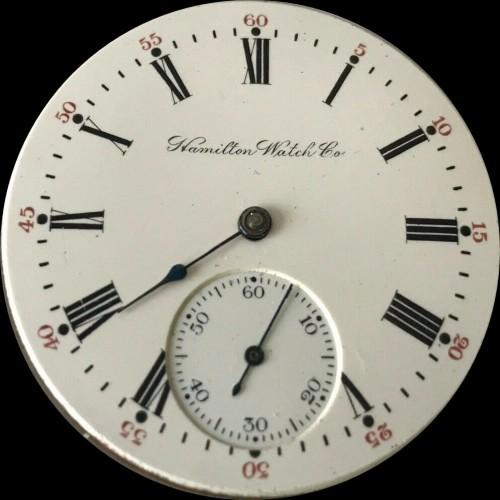 Hamilton Grade 977 Pocket Watch Image