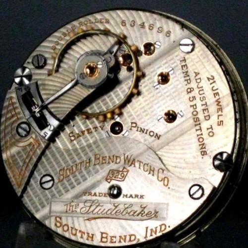 South Bend Grade 329 Pocket Watch Image