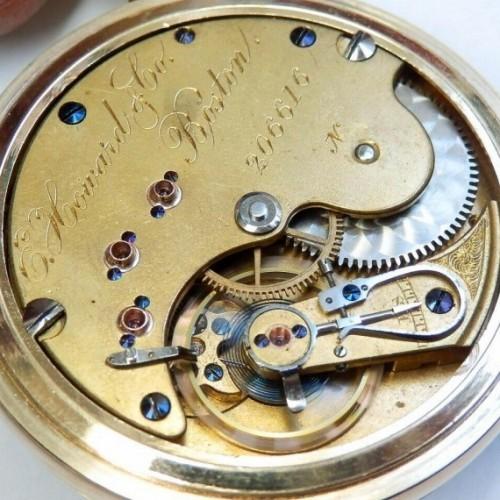 E. Howard & Co. Grade Series VII Pocket Watch Image