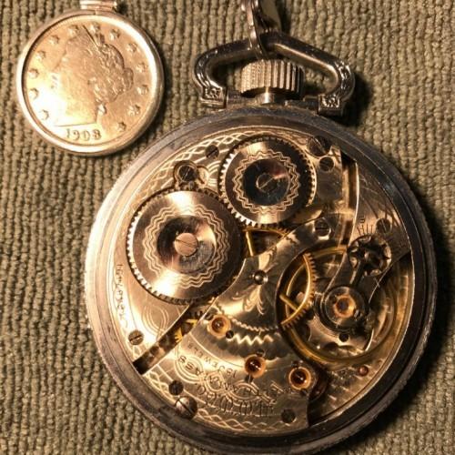 Waltham Grade No. 618 Pocket Watch Image