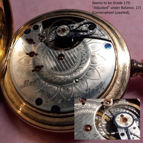 Seth Thomas Grade 179 Pocket Watch Image