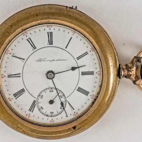 Hampden Grade No. 213 Pocket Watch Image