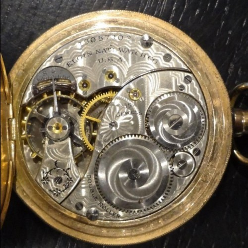 Elgin Grade 314 Pocket Watch