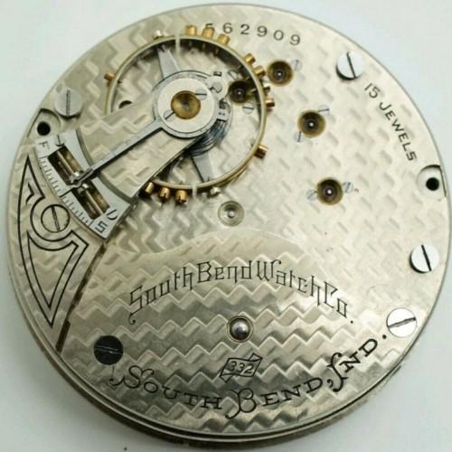 South Bend Grade 332 Pocket Watch Image
