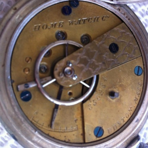 Image of Waltham Home Watch Co. #350284 Movement