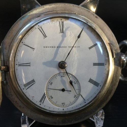 Image of U.S. Watch Co. (Marion, NJ)  #31568 Dial