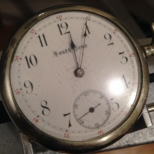 South Bend Grade 260 Pocket Watch Image