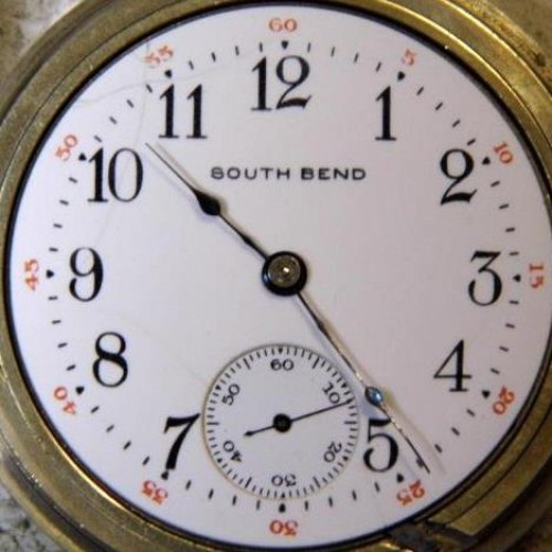 South Bend Grade 330 Pocket Watch Image