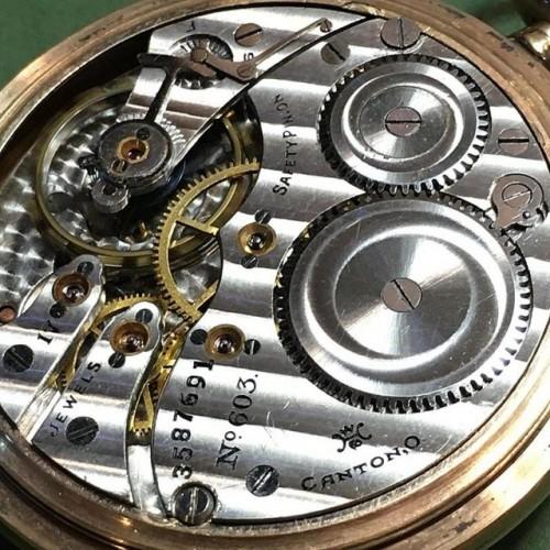 Hampden Grade No. 603 Pocket Watch Image