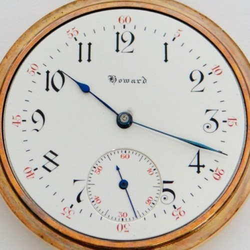 Image of E. Howard Watch Co. (Keystone) Series 3 #945946 Dial