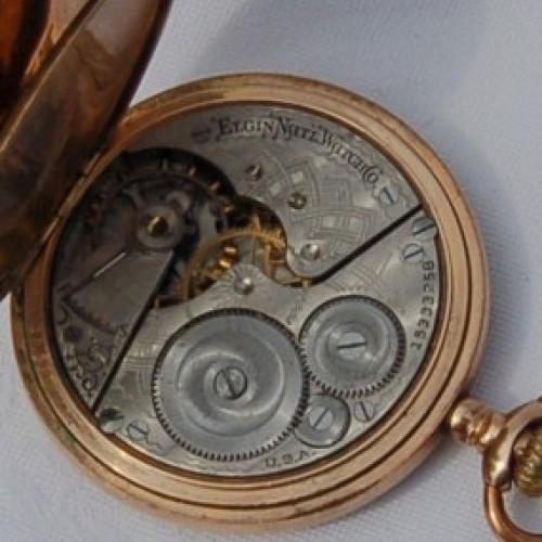 Elgin Grade 290 Pocket Watch Image
