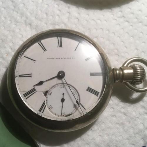 Elgin Grade 9 Pocket Watch Image