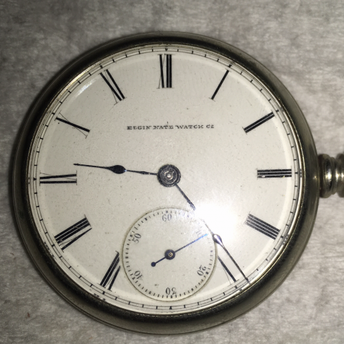 Elgin Grade 5 Pocket Watch Image