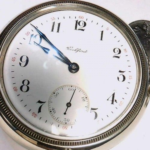 Rockford Grade 69 Pocket Watch Image