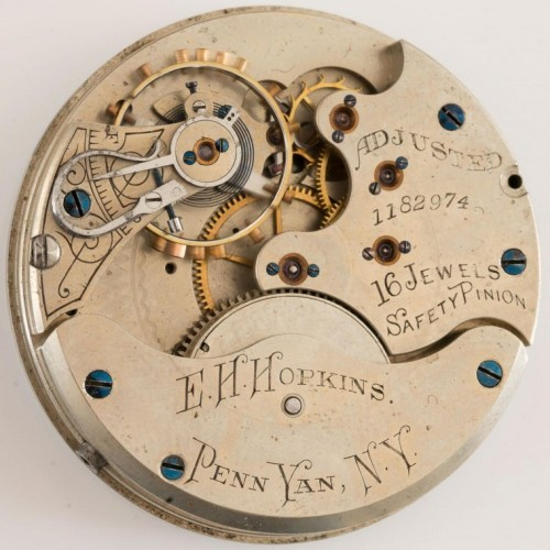 Illinois Grade 114 Pocket Watch Image
