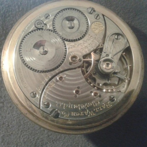 Ball Grade Commercial Standard Pocket Watch Image