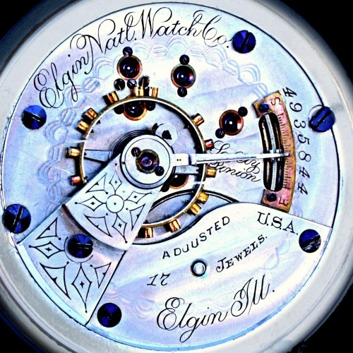 Elgin Grade 126 Pocket Watch
