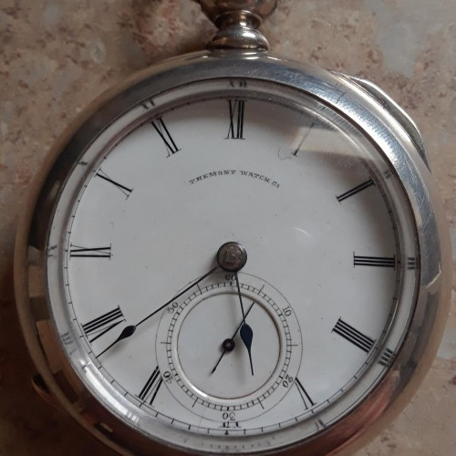 Tremont Watch Co. Grade Melrose Watch Co. Pocket Watch Image