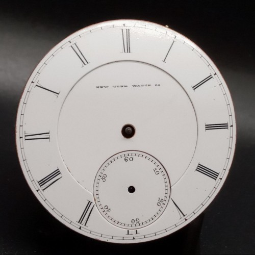 New York Watch Co. Grade New York Pocket Watch Image