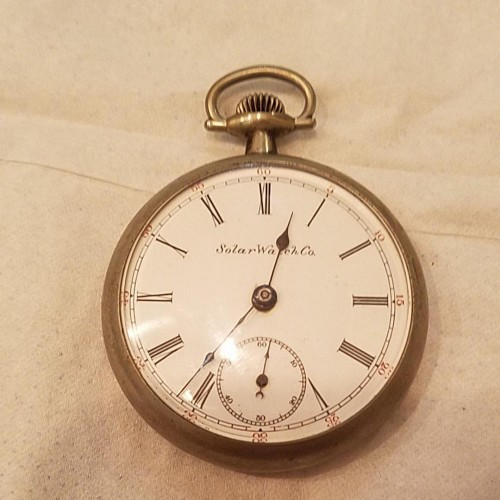 New York Standard Watch Co. Grade 61 Pocket Watch Image
