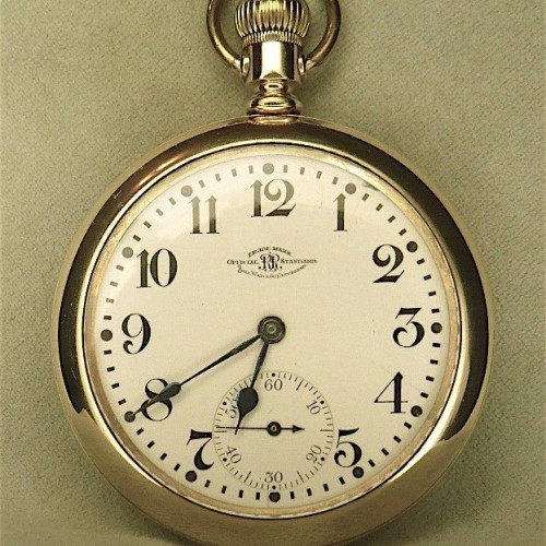 Image of Ball - Waltham Official Standard #B247035 Dial