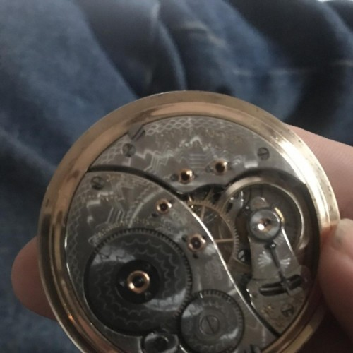 Elgin Grade 372 Pocket Watch Image
