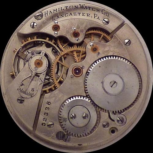 Hamilton Grade 976 Pocket Watch Image