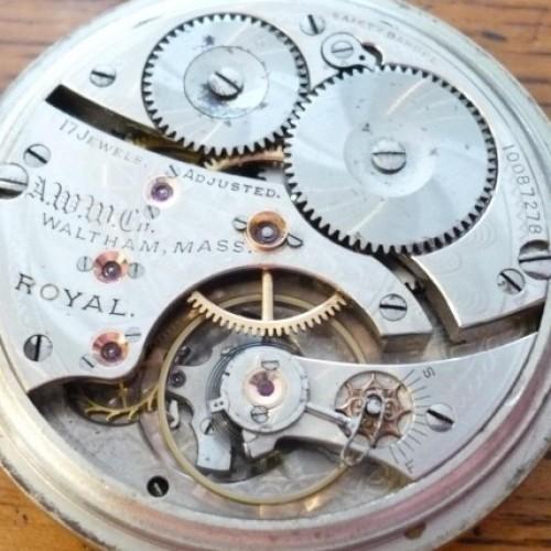 Waltham Grade Royal Pocket Watch Image