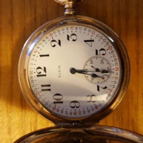 Elgin Grade 373 Pocket Watch Image