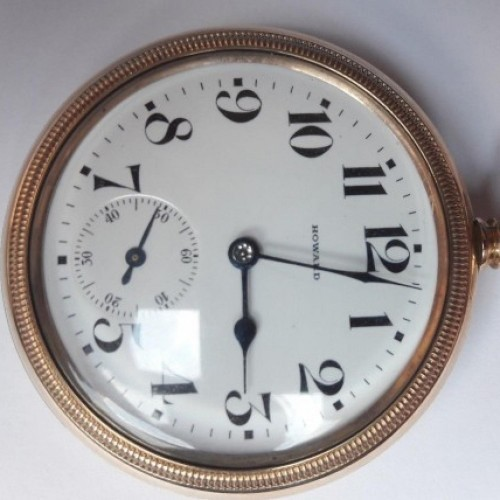 E. Howard Watch Co. (Keystone) Grade Series 11 Pocket Watch Image