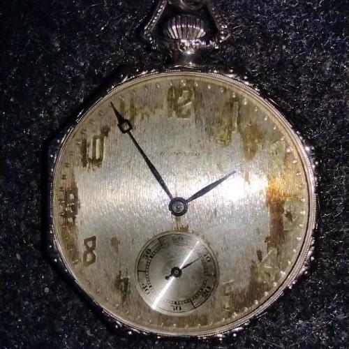E. Howard Watch Co. (Keystone) Grade Series 15 Pocket Watch Image